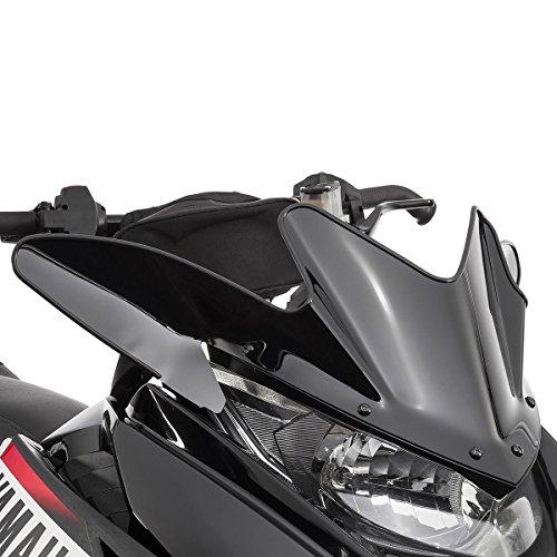 yamaha sr viper low snowmobile windshield black 9 5