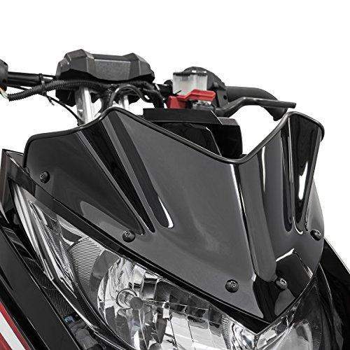 Yamaha sr viper extreme low snowmobile windshield black 7 for Yamaha sx viper windshield