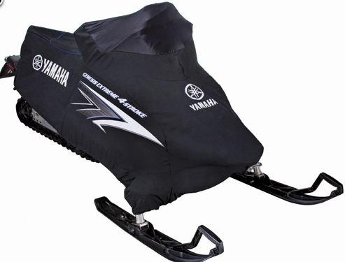 Yamaha oem snowmobile apex attak custom cover black sma for Yamaha snowmobile covers