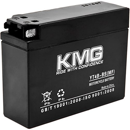 Yt4b bs battery for yamaha ttr50e 2006 2007 sealed for Yamaha motorcycle batteries